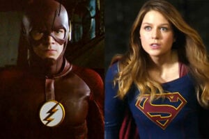The Flash Supergirl Promo