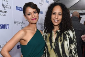 Gugu Mbatha Raw and Gina Prince Bythewood