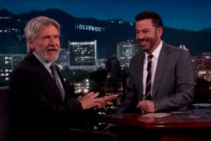 Harrison Ford Jimmy Kimmel Live