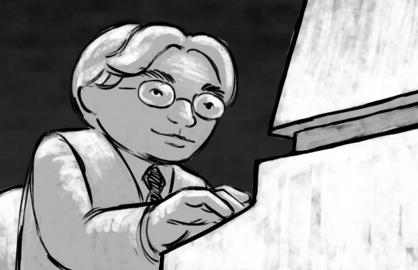 iwata animated tribute gdc awards