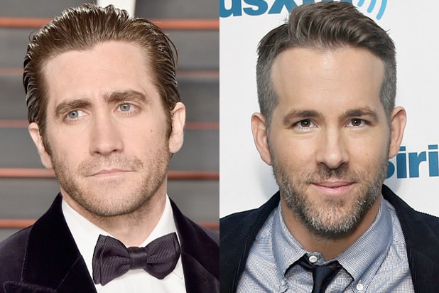 Jake Gyllenhaal and Ryan Reynolds