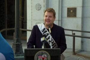 james corden mayor of los angeles