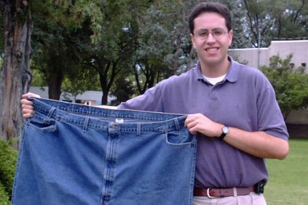 jared fat pants