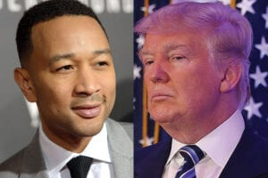 John Legend Calls Donald Trump racist