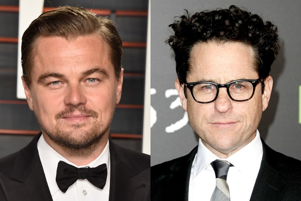Leonardo DiCaprio, JJ Abrams