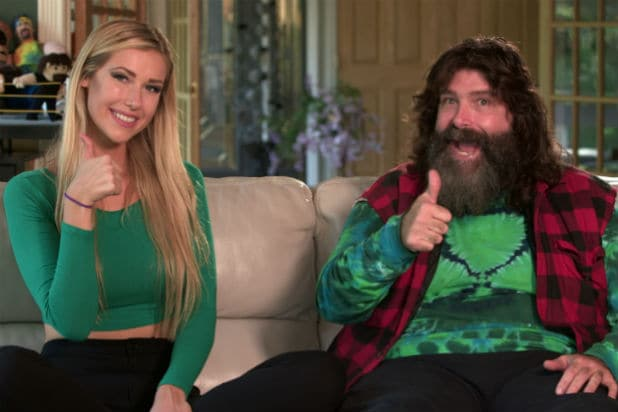 mick foley wwe network series