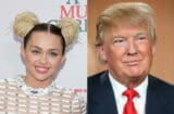 miley cyrus donald trump