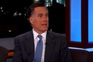 mitt romney donald trump jimmy kimmel