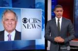 Les Moonves Trevor Noah Daily Show Trump