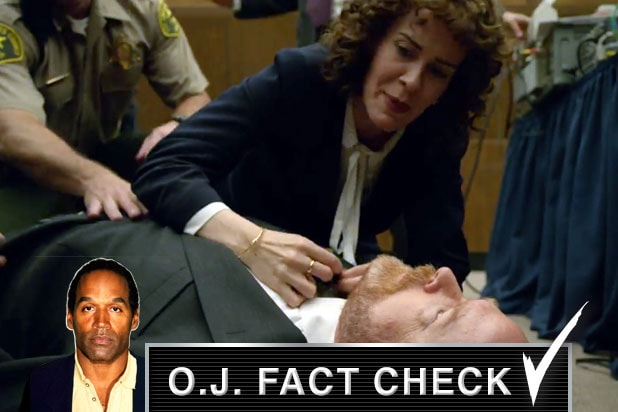 OJ Simpson Marcia Clark Bill Hodgman Collapse