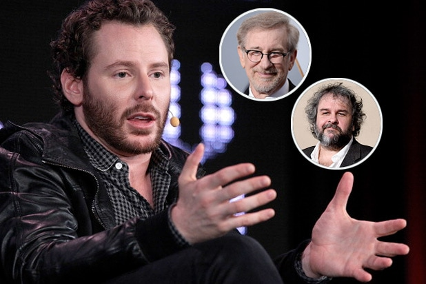 sean parker steven spielberg peter jackson screening room