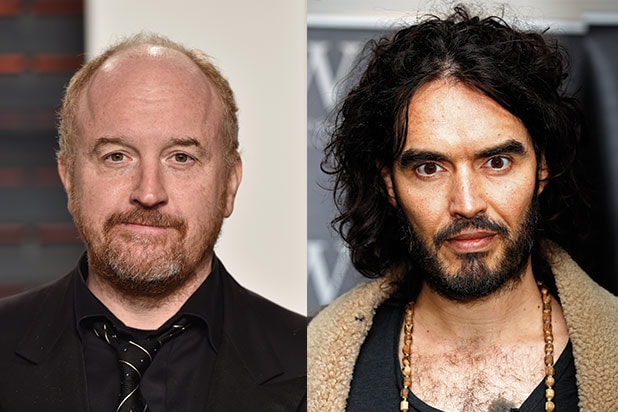 Louis C.K. Russell Brand to Perform at PTSD benefit