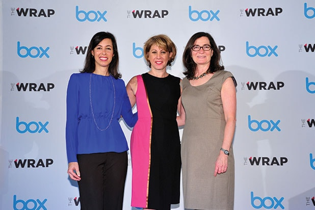 Sharon Waxman Jessica Rosenworcel Julie Brill Power Women Breakfast