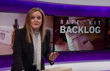 samantha bee rape kit backlog