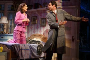 Laura Benanti and Zachary Levi in She Loves Me