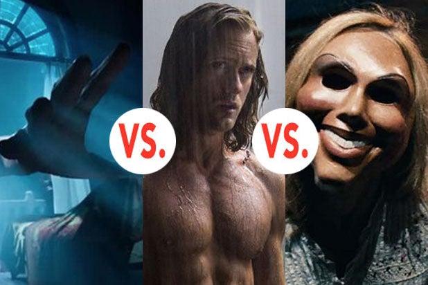 BFG vs Tarzan vs Purge