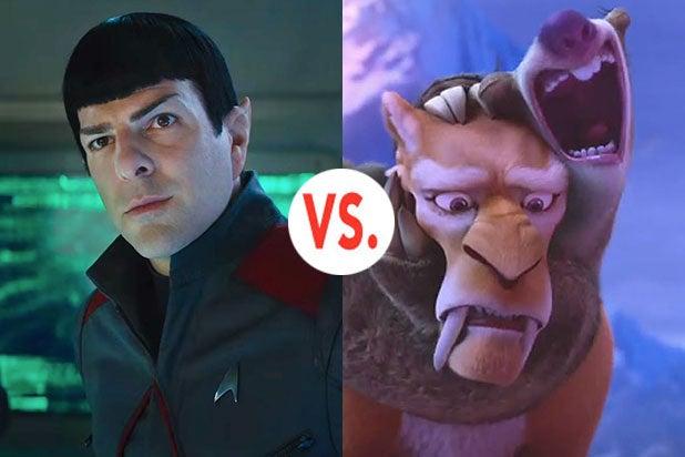 Star Trek vs Ice Age