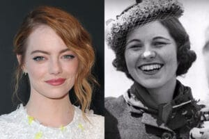Emma Stone as Rosemary Kennedy