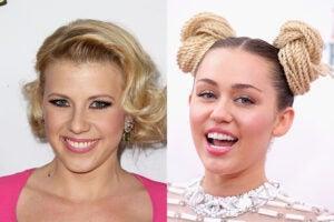 Jodie Sweetin, Miley Cyrus