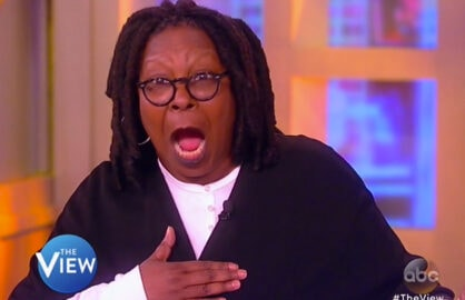 The View 3 14 2016 Whoopi Goldberg Donald Trump