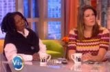 the view whoopi goldberg michelle collins donald trump