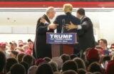 Donald Trump rally disturbance