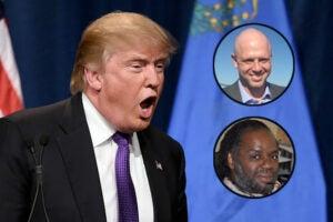 Donald Trump James Edwards, Karanja Ajanaku