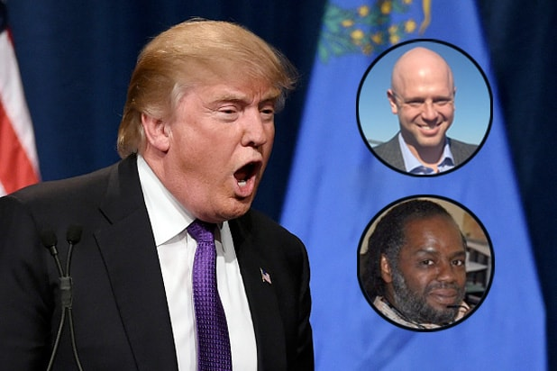 Donald Trump James Edwards, Karanja Ajanaku