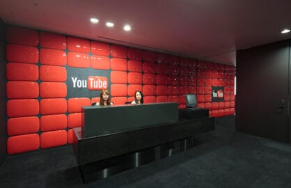 A YouTube office