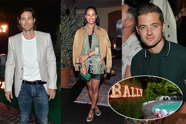Brad Falchuk, Joy Bryant Robbie Rogers Bally Dinner