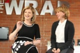 Arianna Huffington and Sharon Waxman