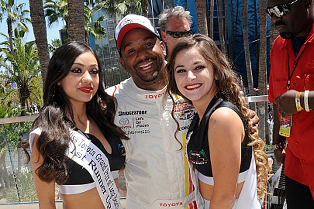 Alfonso Ribeiro at Toyota Pro Celebrity Race