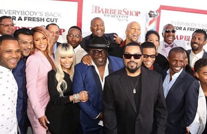 Barbershop The Next Cut Cast Photo