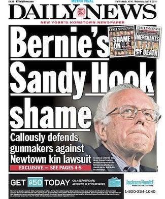 Bernie New York Daily News