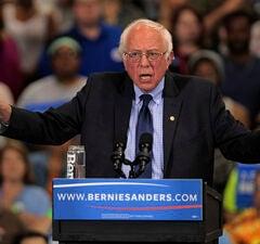 Bernie Sanders Holds Election Night Rally In West Virginia