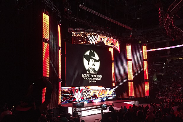 Blackjack Mulligan Tribute at WWE Monday Night Raw