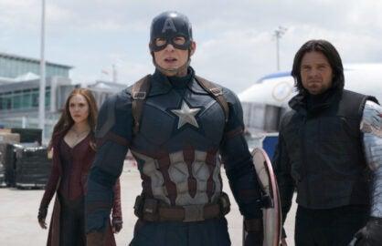 Captain America Evans