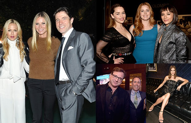 Party Report Gwyneth Paltrow Jerry Seinfeld Emilia Clarke