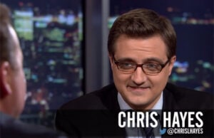 Chris Hayes Drinking With the Stars