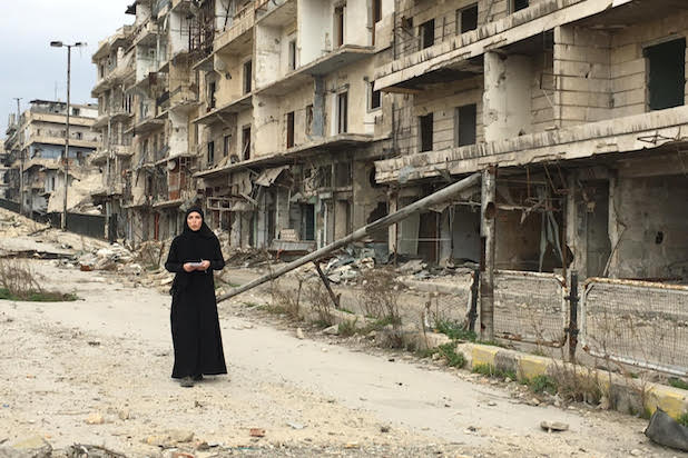 Clarissa Ward Syria