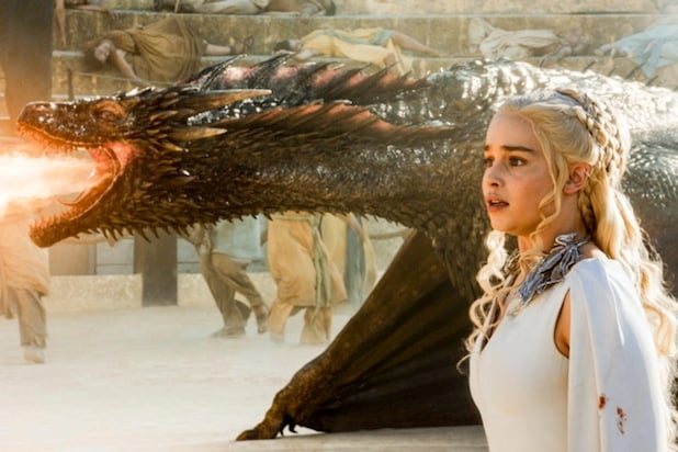 Daenerys and Drogon