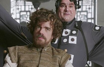 Dinklage and Moynihanon SNL