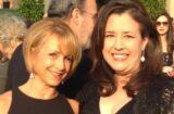Gabrielle Carteris and Rebecca Damon