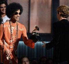 prince 57th GRAMMY Awards