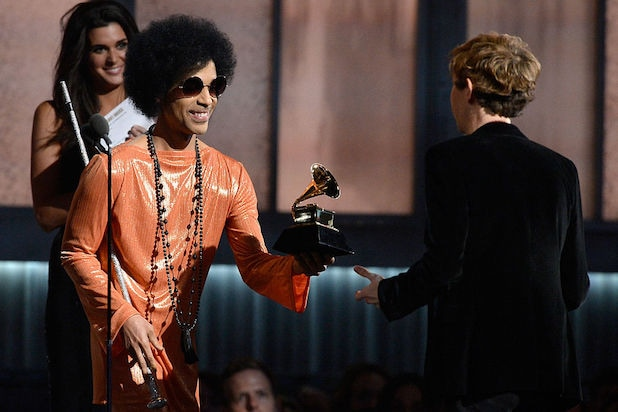 prince 57th GRAMMY Awards