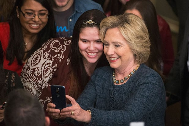 Hillary Clinton to Hit Up Hollywood's ATM on Cinco de Mayo