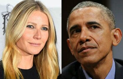 Gwyneth Paltrow Barack Obama