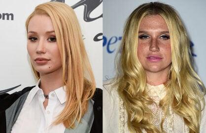 Iggy Azalea Supports Kesha
