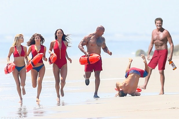 Zac Efron Photoshop Battle Baywatch box office Memorial Day