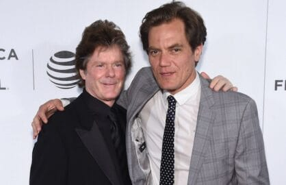 Jerry Schilling and Michael Shannon